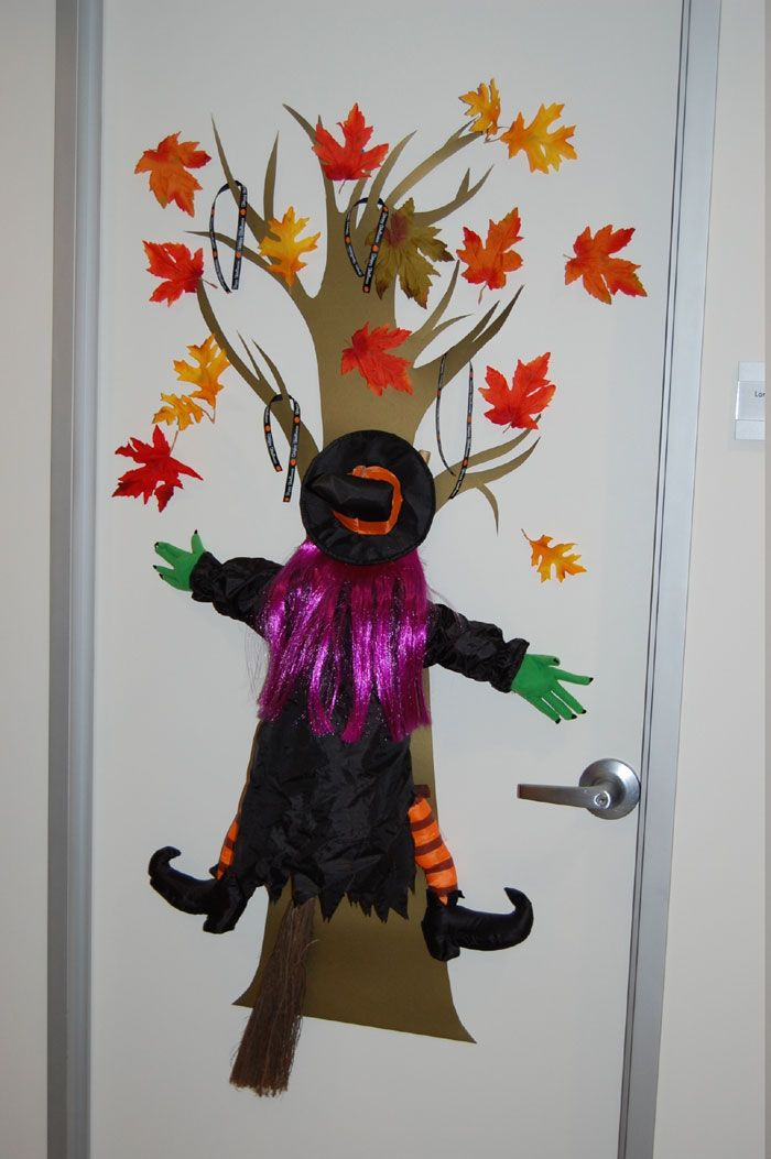 Classroom Halloween Decorations To Make ~ Classroom door halloween decorating contest take time to