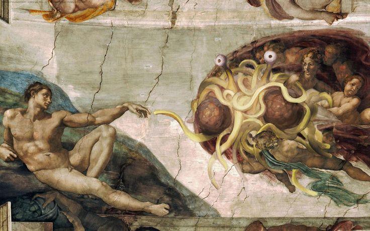 Pastafarisme monste spaghetti volant