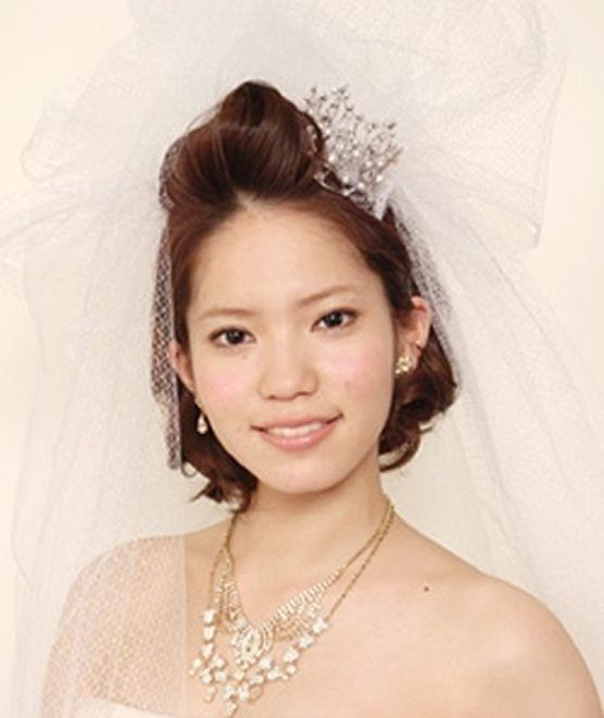 ボブ】簡単アレンジ/ 結婚式(二次会)のお呼ばれパーティ髪型 ... ロイヤルポンパドール
