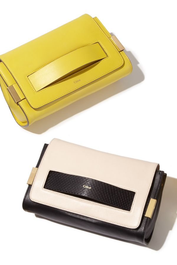 Both a crossbody and a clutch, Chloe's 'Elle' #handbag has something special for everyone.