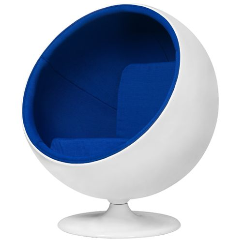 funky office chairs. eero aarnio style classic blue and white funky ball chair groovy home u0026 contemporary furniture online office chairs