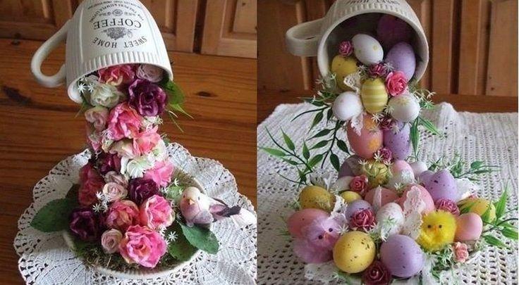 Es ist nicht mehr lange bis Ostern. Vielen Menschen macht es dann Spaß, das Haus ein wenig in die Osterstimmung zu bringen. Sind Sie auch so jemand, dem es Spaß macht, zu Ostern herrlich zu basteln? Probieren Sie dann auf jeden Fall 1 dieser tollen Osterideen aus. Was halten Sie zum Beispiel von hängenden Ostereiern …