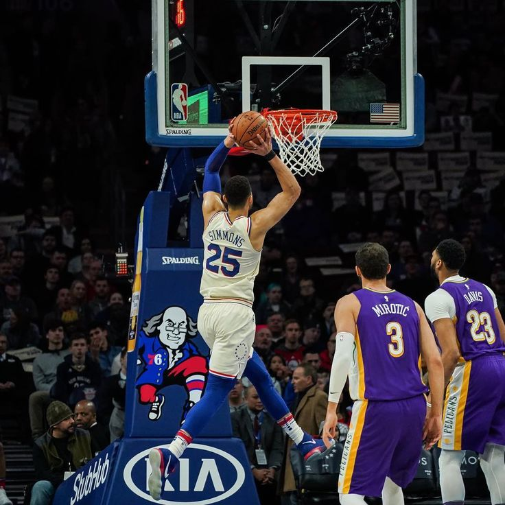 Good team win last night for the @sixers defeat the @pelicansnba by a score of 100-82!  Notable Stats: Joel Embiid - 24pts 16reb JJ Redick - 15pts 7reb Dario Saric - 24pts (4/5 from 3) Ben Simmons - 10pts 8ast 9reb  The #Sixers had a 35 point lead at one point in the 4th however the #Pelicans 43 bench points as opposed to the #Sixers 19 bench points kept them from a major blowout.  The Sixers next game is tonight against the @laclippers at 7PM at the Center!  #LetsGoSixers #Philadelphia76ers…
