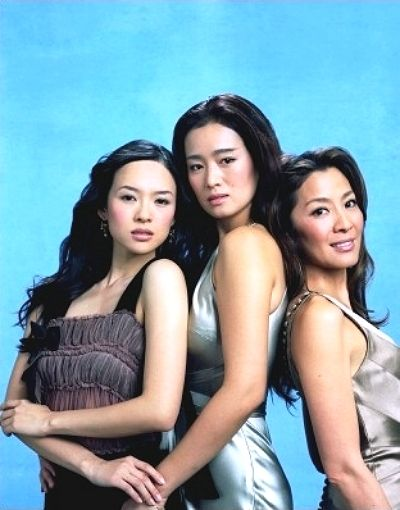 ziyi zhang, gong li & michelle yeoh.