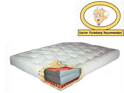 9 Inch Moonlight Futon Mattress By Gold Bond In Twin Full Queen