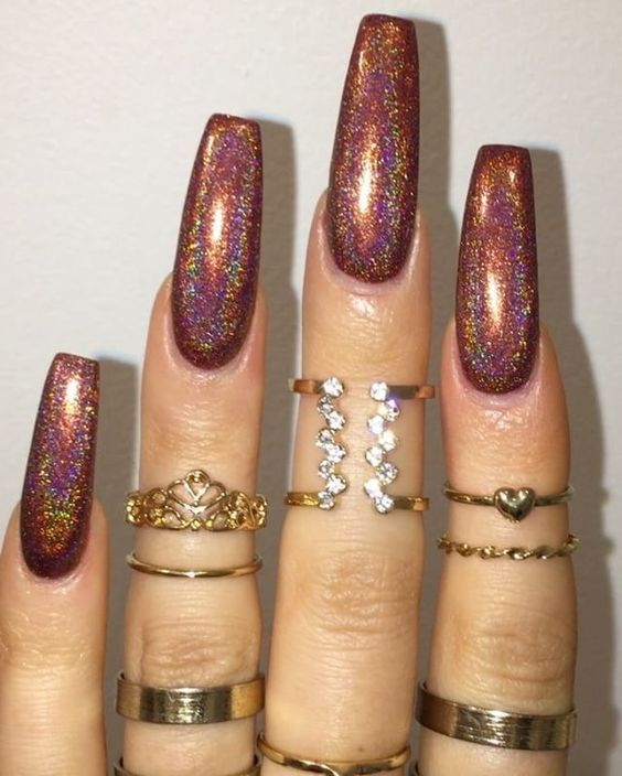 Best 25+ Colored Acrylic Nails Ideas On Pinterest