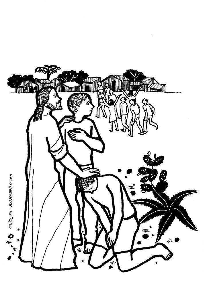 Evangelio según san Lucas (17,11-19), del domingo, 9 de octubre de 2016