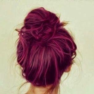 maroon hair - Google Search
