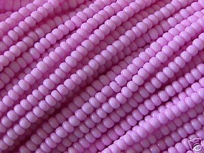 11/0 Raspberry Cream Pink Sol Gel Czech Seed Beads HK