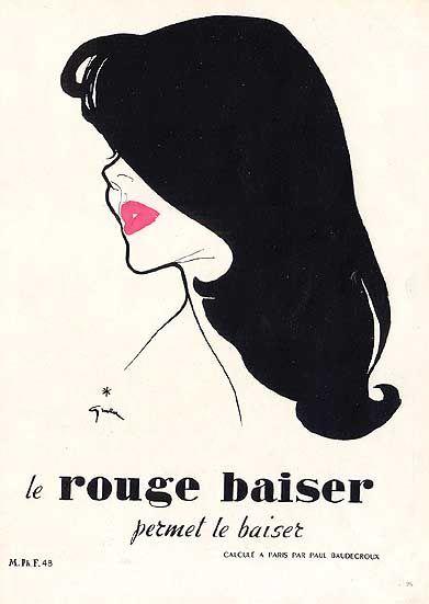 gruau rouge baiser