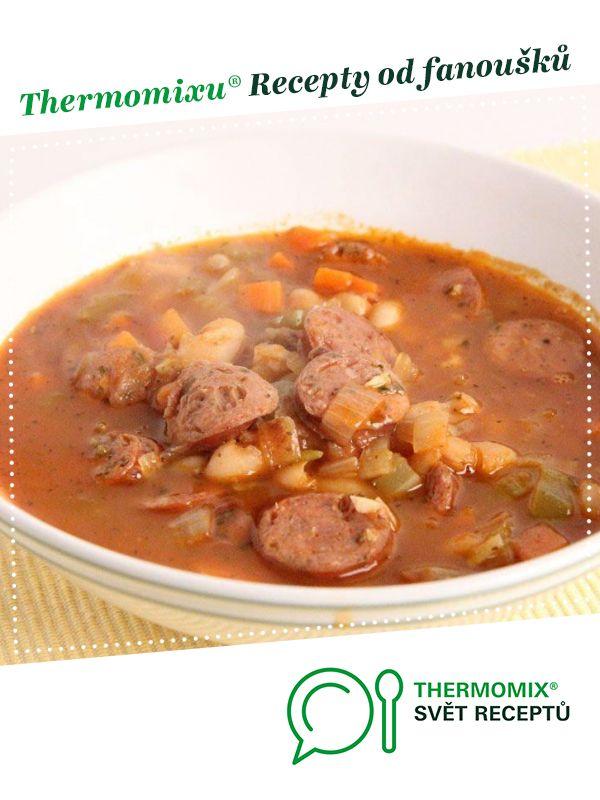 Horská fazolačka od Jan Stříbrný. A Thermomix <sup>®</sup> recept z kategorie Polévky z www.svetreceptu.cz, Thermomix <sup>®</sup> skupina.