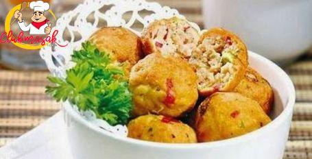 Resep Sajian Dengan Saus Mayones, Kentang Tuna Saus Mayo Asam Pedas, Masakan Ala Cafe, Club Masak
