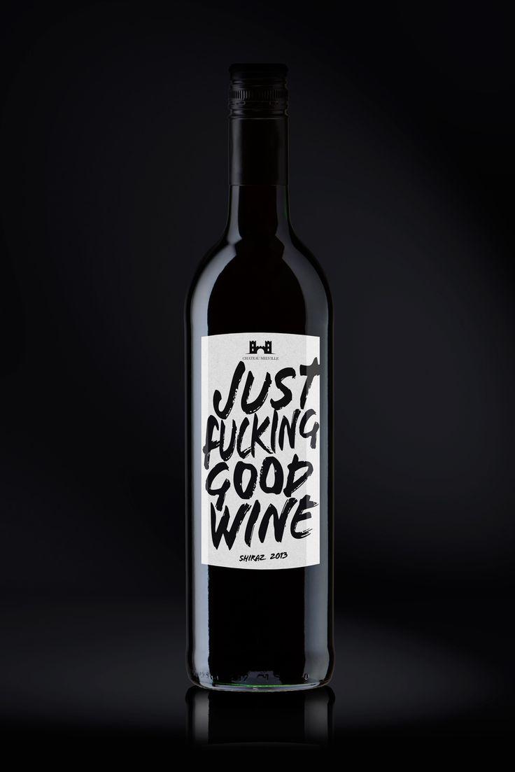 Agentur für Verpackungsdesign, Webdesign Düsseldorf und Corporate Design | Just F* Good Wine (Concept)