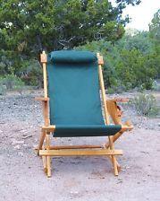 Beach Sling Chair Plans | Nevin Handmade Wood Outdoor Folding Sling Chair  Camping Deck Beach