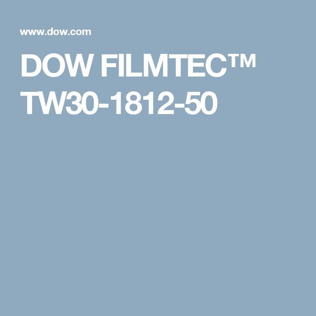 DOW FILMTEC™ TW30-1812-50