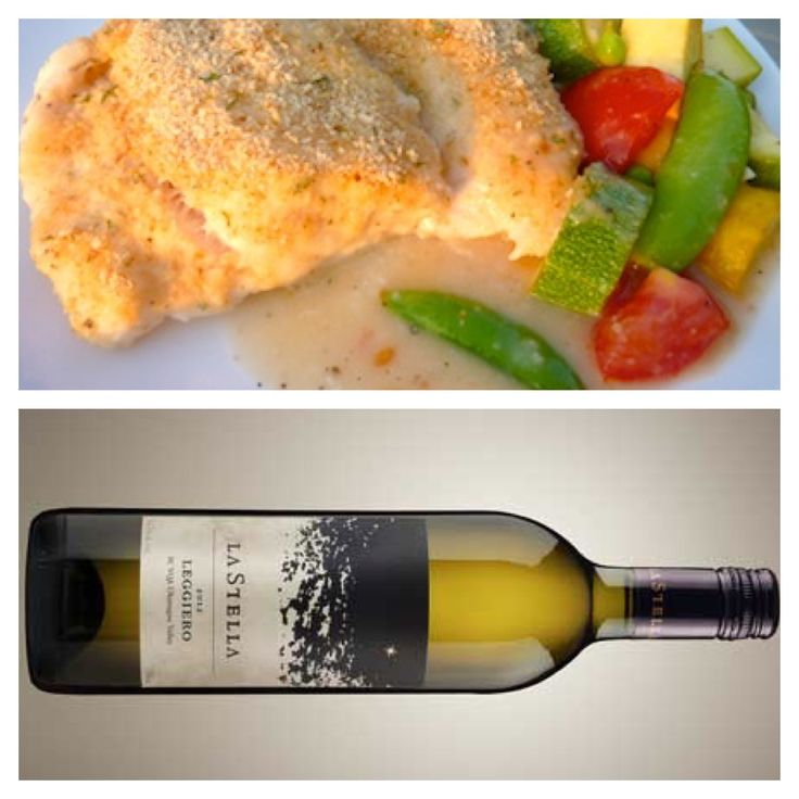 Our sister winery LaStella... Wine & Food Pairing from Severine (our Winemaker): Wine - Leggiero (un-oaked Chardonnay) light and crispy, with lots of citrus in the nose and in the mouth, with still some creaminess due to the fin lees elevage in the tank. Food - Steamed white cod and sauteed vegetables such as carrots, panais (parsnip), and zucchini. $25 - http://www.lastella.ca/product/bianco-rosato/2013-leggiero-un-oaked-chardonnay/