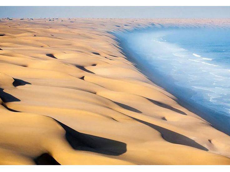 14. Le désert du Namid en Namibie, Le Cap en Afrique du Sud