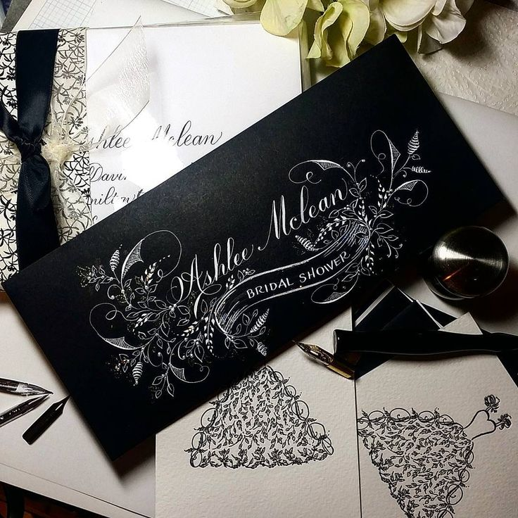 409 отметок «Нравится», 27 комментариев — F Phyllis Macaluso (@fpmmac) в Instagram: «#invitations #bridalshower #bride #bridal #shower #handlettering #handwriting #flourish…»