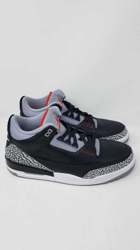 2418c1658b5 Air Jordan 3 Retro OG 2018 Black Cement Grey Fire Red 854262 001 sz 11.5  #fashion #clothing #shoes #accessories #mensshoes #athleticshoes (ebay link)