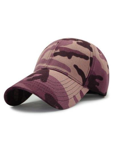 Al aire libre patrón de camuflaje protector solar sombrero de béisbol