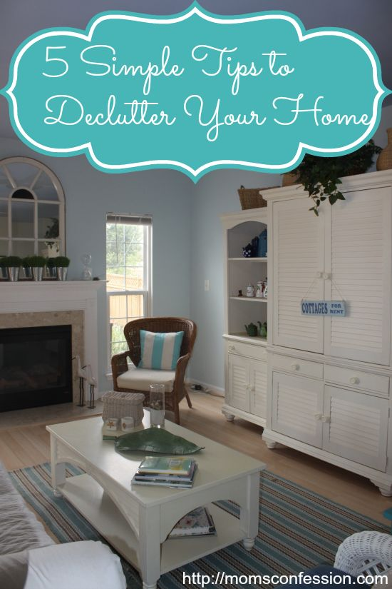 Take the less is more challenge and Declutter your home with these five simple tips. Then enjoy the home you live in for years to come. You won't regret it!