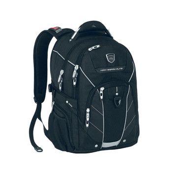 High Sierra Elite Business Backpack - Black