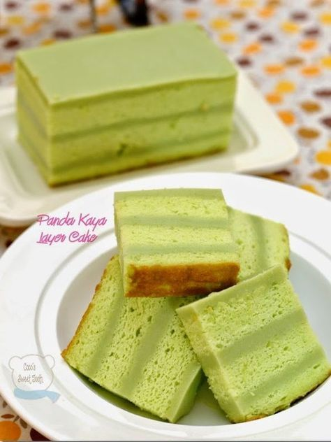 Pandan Kay's Layer Cake Following my first successful attempt in making this cake, I only posted a photo of the finished product in my blog without furthe...
