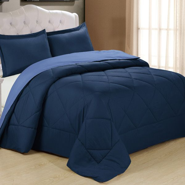 Shop Wayfair for Cathay Home, Inc Peach Skin Ensemble Comforter Set - Great Deals on all Bed & Bath products with the best selection to choose from!