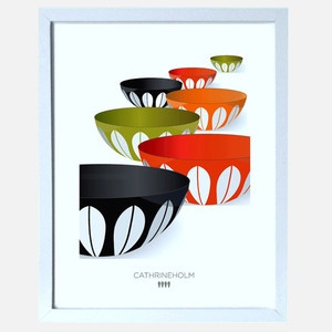 Infinity Bowls Print, 30€, now featured on Fab.