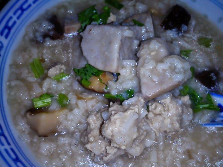 Tasty Yam Taro Porridge