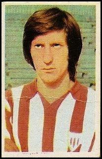 Escalza. Athletic Club de Bilbao. Cromos Ruiz Romero. Temporada 1976-77.