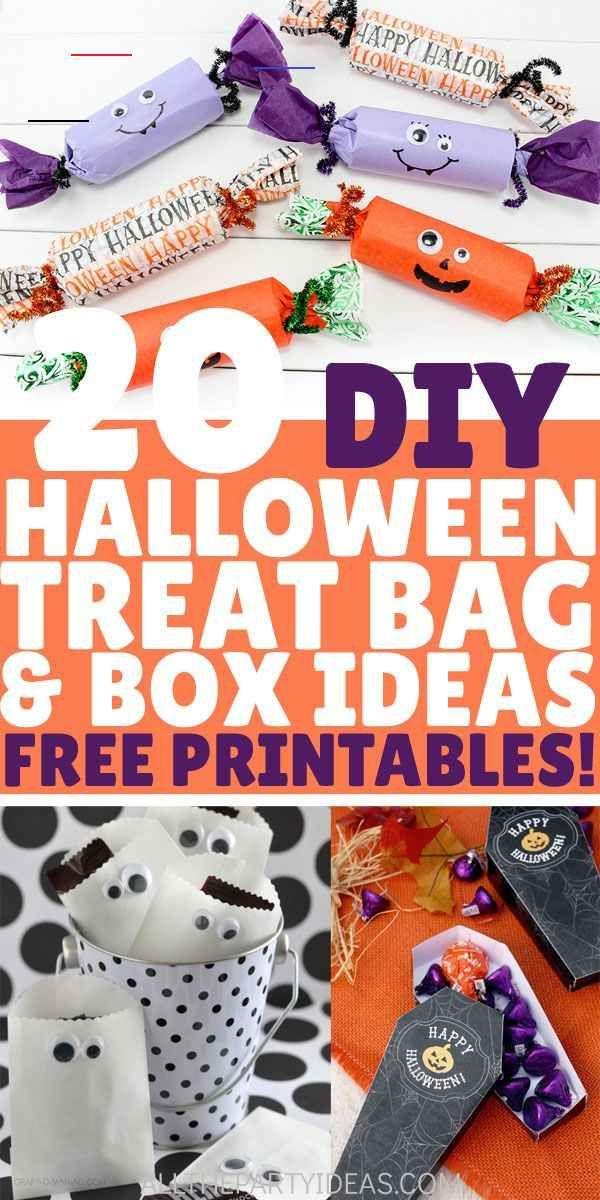 easy diy halloween treat bag ideas