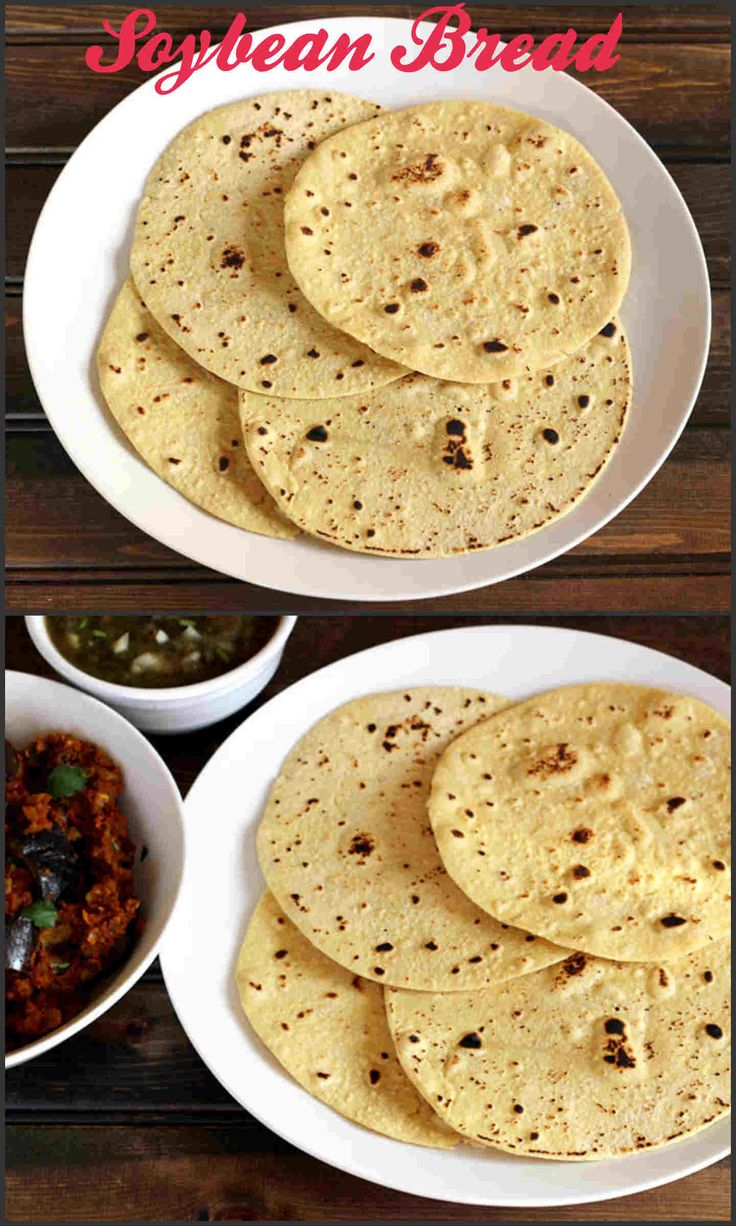 Soybean Bread is a low calorie, delicious and aromatic bread prepared using…
