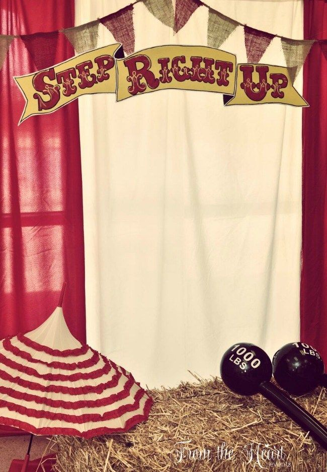 Vintage Circus Party (guest feature) - Celebrations at Home                                                                                                                                                     More