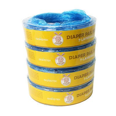 4er. Nachfüllkassetten Ersatzkassetten für Angelcare Windeleim Systeme 7500mm in Baby, Pflege, Windeleimer-Ersatzkassetten | eBay