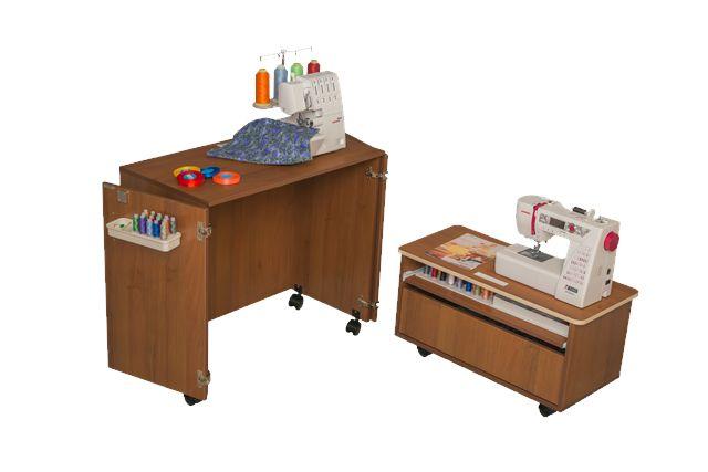 COMFORT NEXT sewing machine and overlocker table