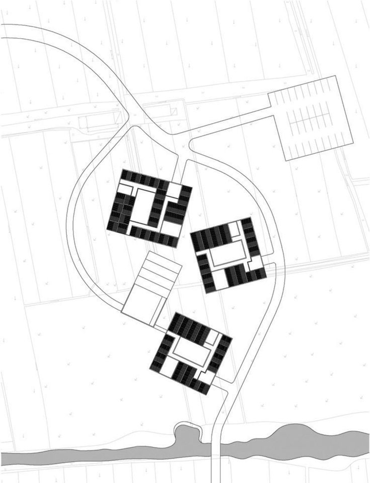 AZL architects, Iwan Baan · Three Courtyard Community centre · Divisare