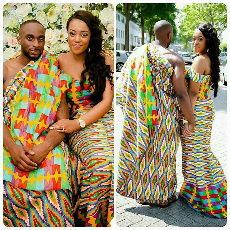 Gangnam style versus african style dress
