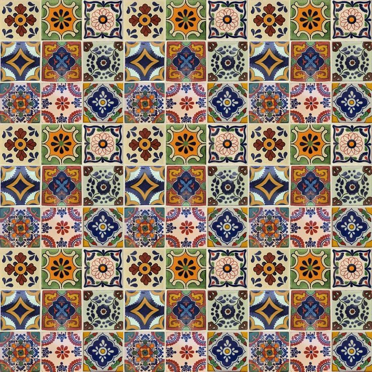 Hand Made Spanish Mediterranean Moroccan And Mexican Inspired Tiles From Old World
