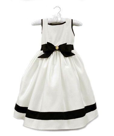 Love this Ivory Audrey Dress - Girls by Dorissa on #zulily! #zulilyfinds