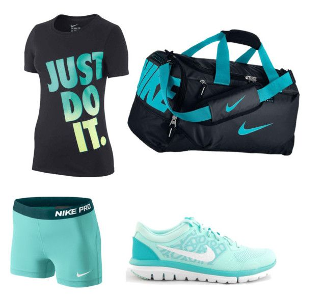 """volleyball practice outfit"" by www-mckenziefam ❤ liked on Polyvore"