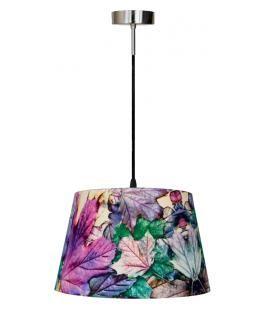 Blomst taklampe colorful Nova Life Lilla 45cm