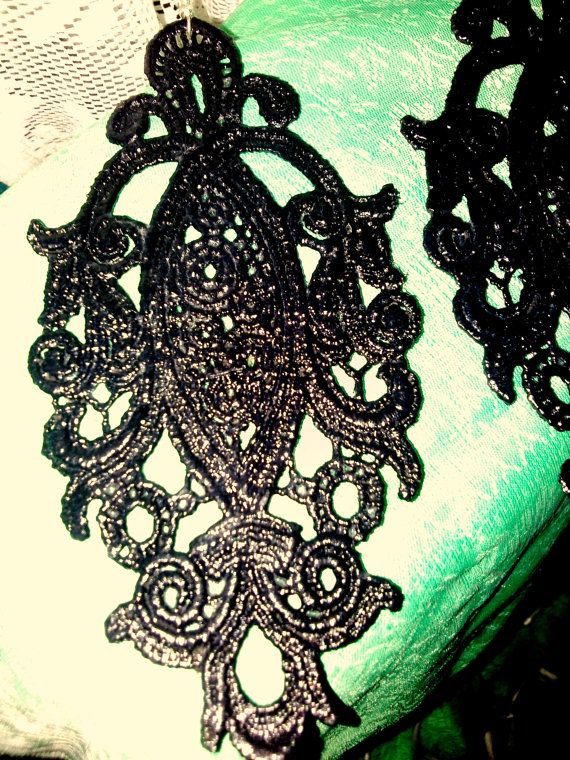 unique lace appliques by KirkisCharms on Etsy, €21.00