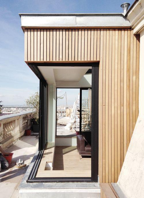 1000 id es sur le th me extension bois sur pinterest for Extension maison lotissement