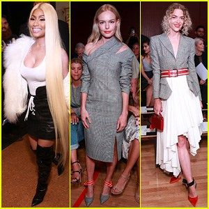 Nicki Minaj Kate Bosworth & Jaime King Celebrate Monse at NYFW Show