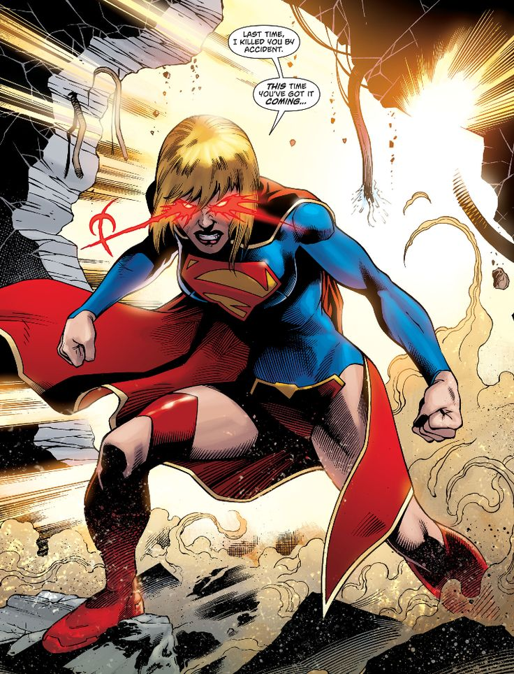 "Supergirl v6 #27 - ""The Beast in the Block"" pencil by Yildiray Cinar / ink by Ray McCarthy"