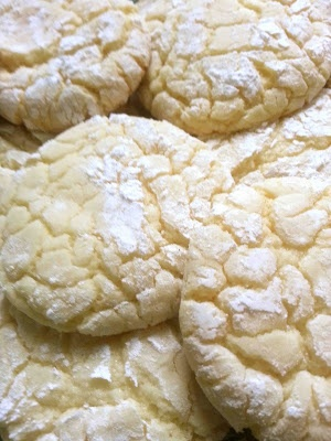 Made by Me. Shared with you.: Vanilla Cake Mix Cookies: Recipe