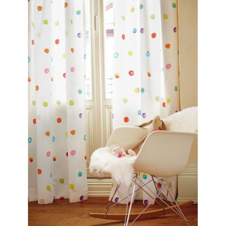 INDES Esprit Kids3_Stoff_Dots fuggony textil szovet pamut mintas gyerekszoba szines vidam meteraru varras tervezes berendezes kivitelezes.jpg (1000×1000)