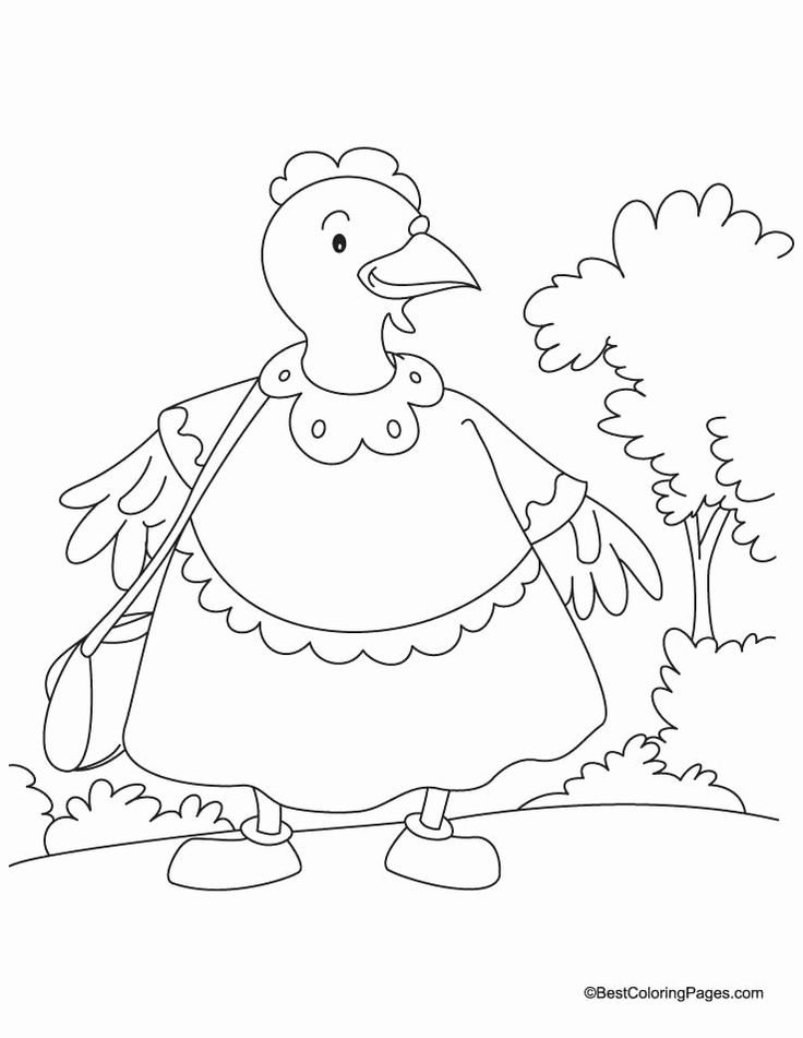 Red Queen Coloring Book Awesome the Little Red Hen ...