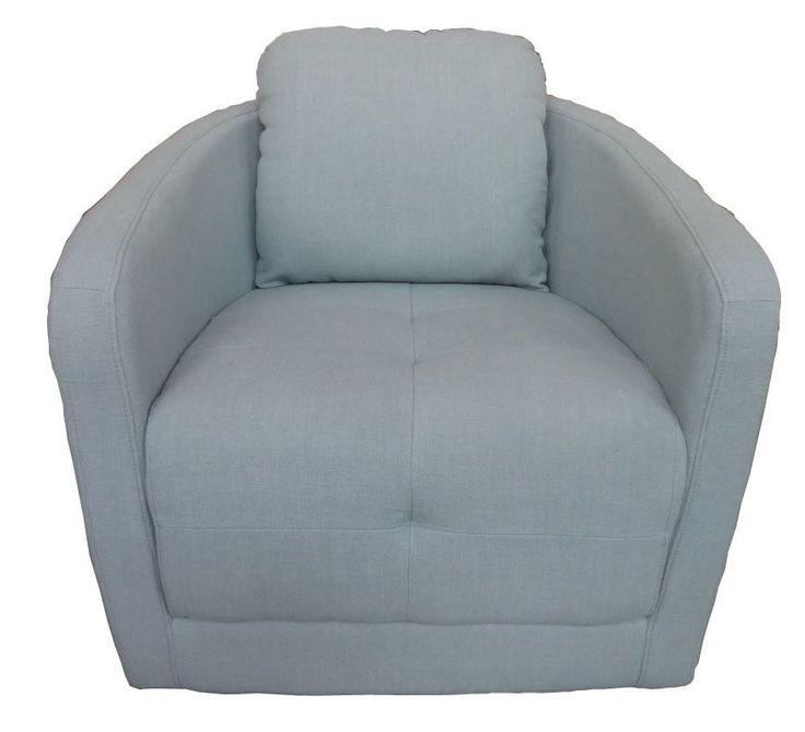 Upsilon Swivel Club Chair